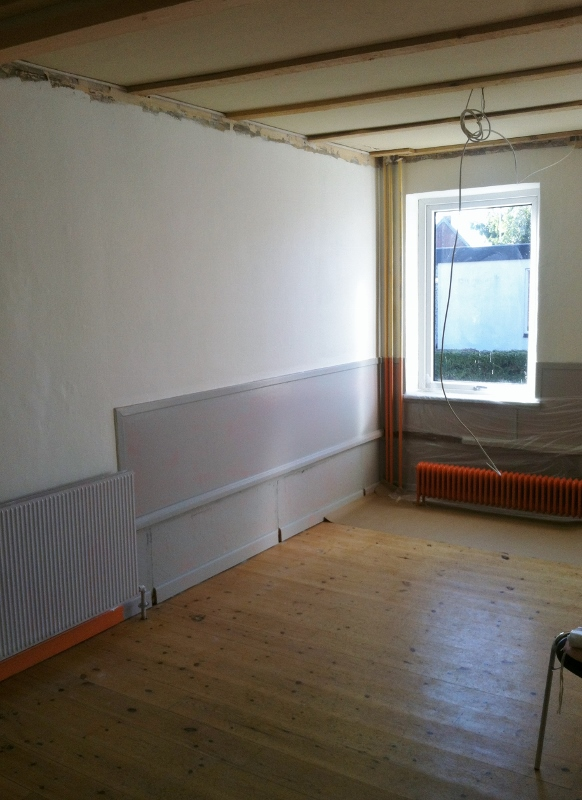 Renovering lille sal 6